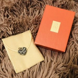 James Avery **Retired** Thank You Heart Charm
